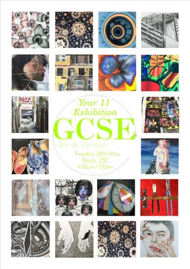 GCSE ART POSTER